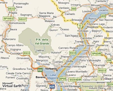 map e794e1f64b55 Val Grande Nationalpark   die Wildnis im Hinterland des Lago Maggiore.
